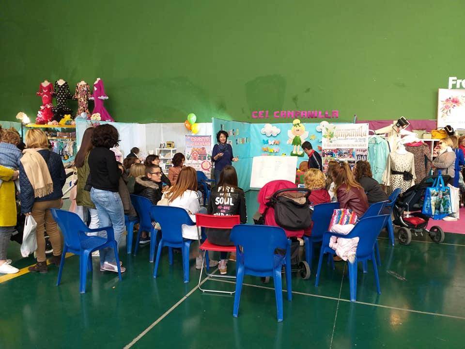 Baobab Educa participó en las  Jornadas del Día de la Mujer de Alhama de Almería